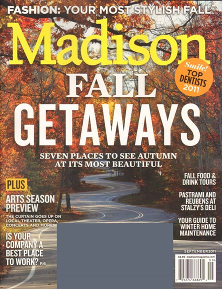 Madison Magazine Cover - 9/1/2011