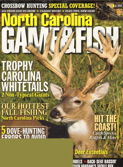 North Carolina Game & Fish Cover - 9/1/2011