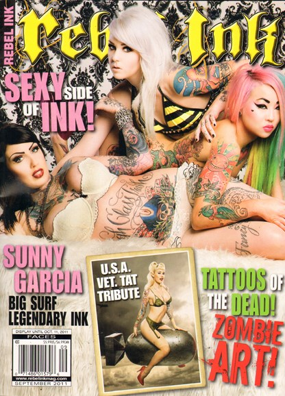 Rebel Ink Cover - 9/1/2011