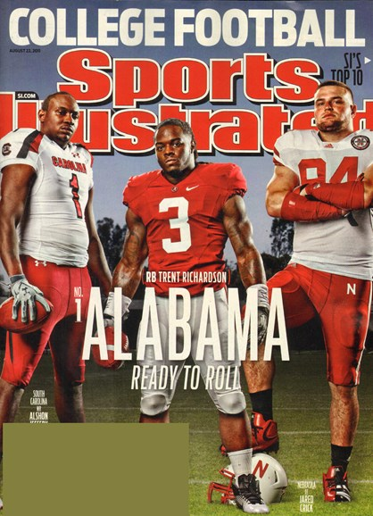 Sports Illustrated Cover - 8/22/2011