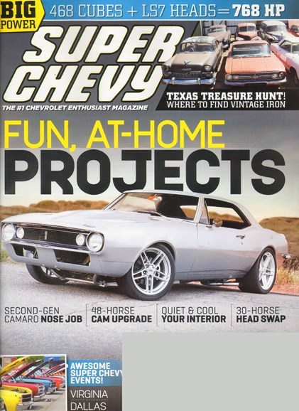 Super Chevy Cover - 10/1/2011