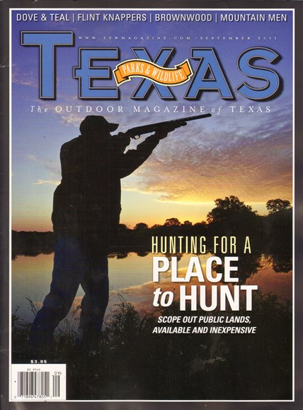 Texas Parks & Wildlife Cover - 9/1/2011