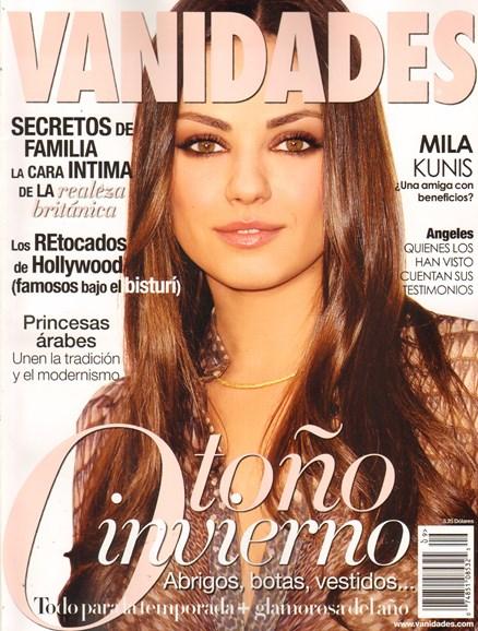 Vanidades Cover - 9/1/2011