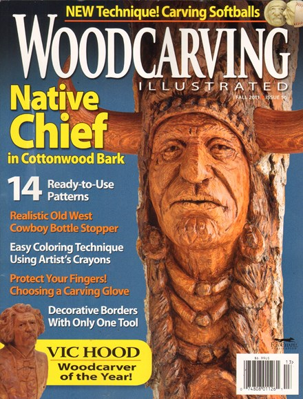 Wood Carving Illustrated Cover - 9/1/2011