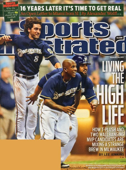 Sports Illustrated Cover - 8/29/2011