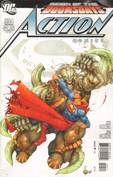 Action Comics Cover - 10/1/2011