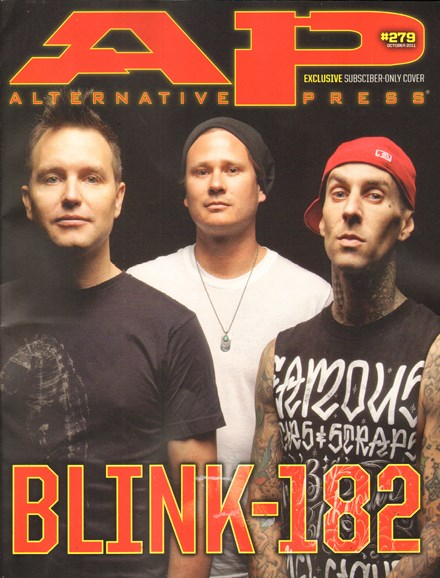 Alternative Press Cover - 10/1/2011