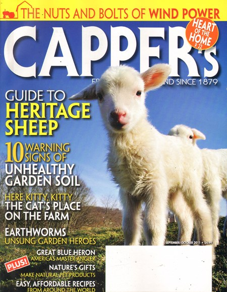 Capper's Cover - 9/1/2011