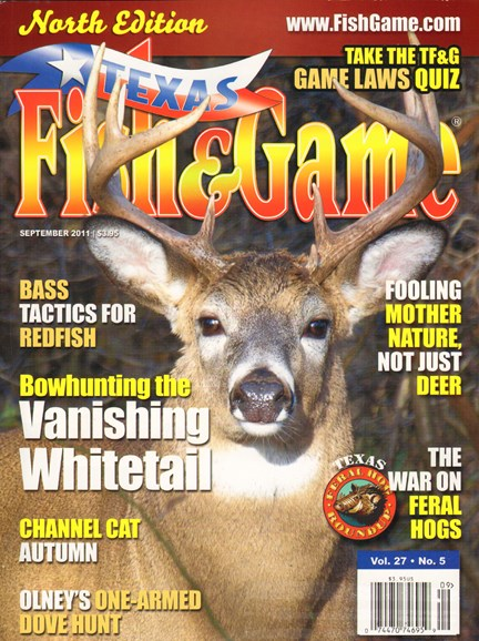 Texas Fish & Game Cover - 9/1/2011