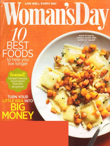 Woman's Day Cover - 10/1/2011