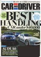 Car And Driver Magazine 10/1/2011