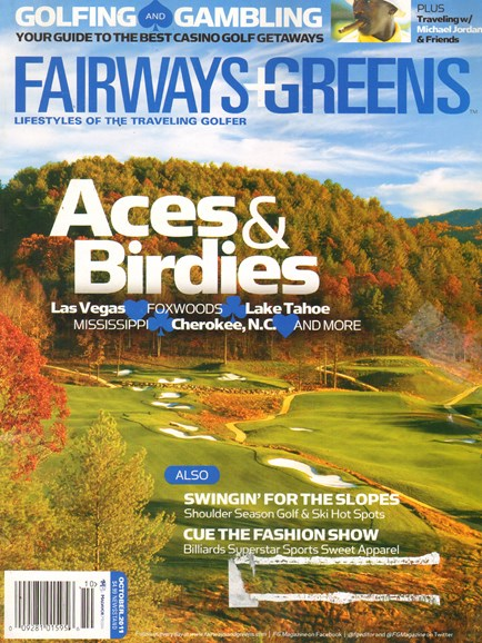 Golf Getaways Cover - 10/1/2011