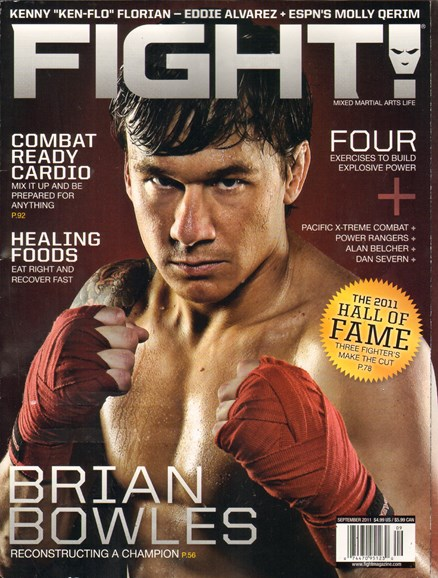 Fight! Cover - 9/1/2011