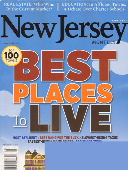 New Jersey Monthly Cover - 9/1/2011