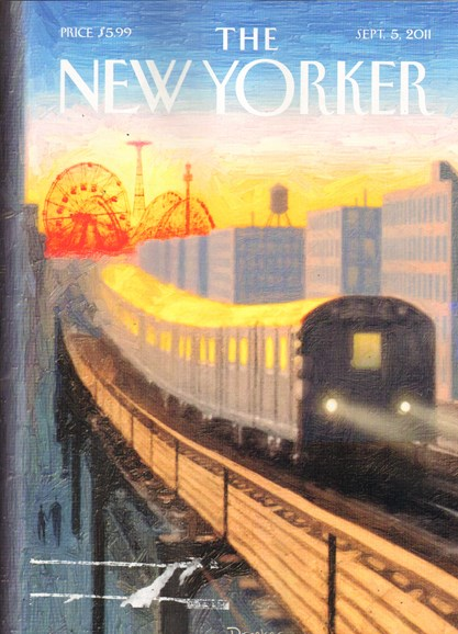The New Yorker Cover - 9/5/2011