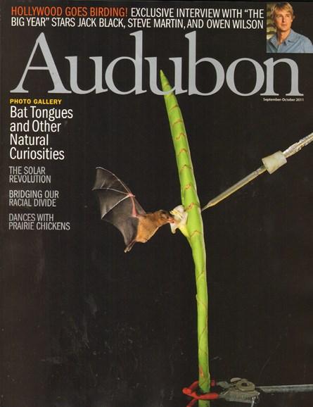 Audubon Cover - 9/1/2011