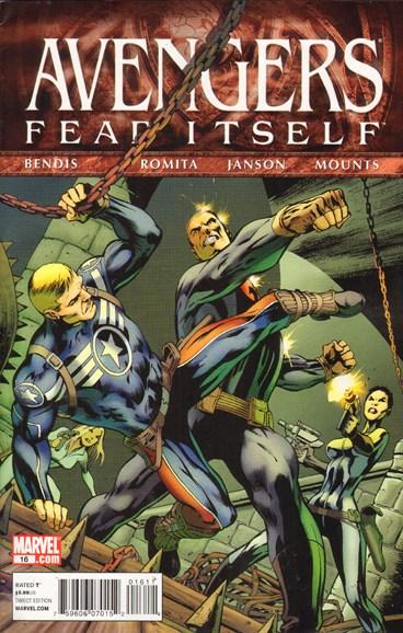 Avengers Cover - 10/1/2011
