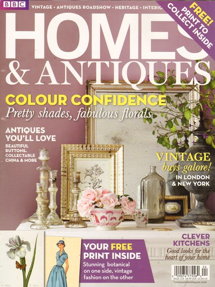 Homes & Antiques Cover - 10/1/2011
