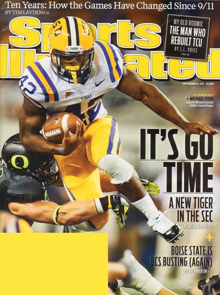 Sports Illustrated Cover - 9/12/2011