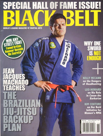 Black Belt Magazine Cover - 11/1/2011