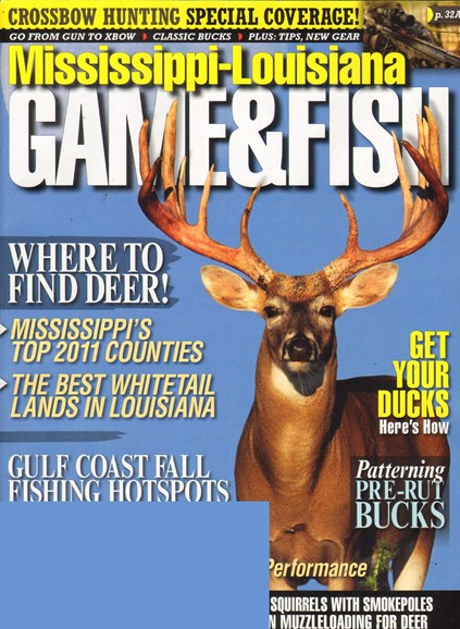 Mississippi Game & Fish Cover - 10/1/2011