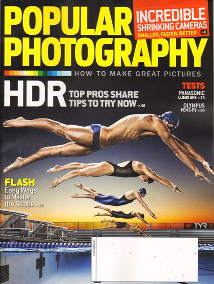Popular Photography Cover - 10/1/2011