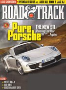Road and Track Magazine 10/1/2011