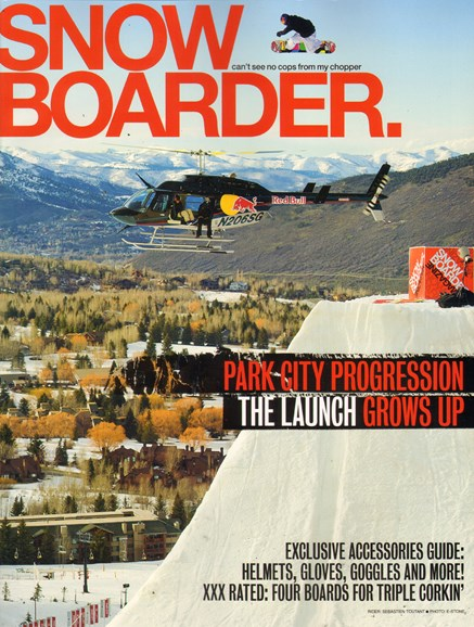 Snowboarder Cover - 10/1/2011
