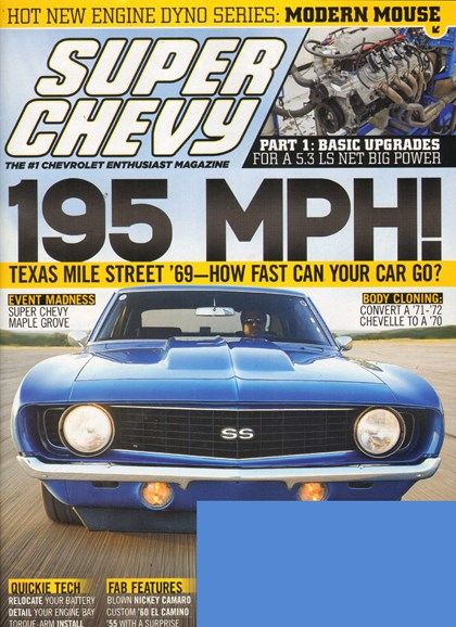 Super Chevy Cover - 11/1/2011