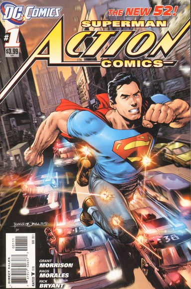 Action Comics Cover - 11/1/2011