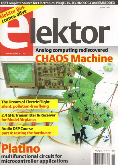 Elektor - North American Edition Cover - 10/1/2011