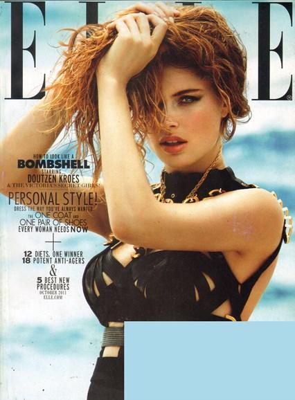 ELLE Cover - 10/1/2011