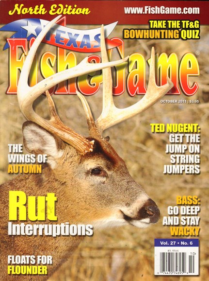 Texas Fish & Game Cover - 10/1/2011