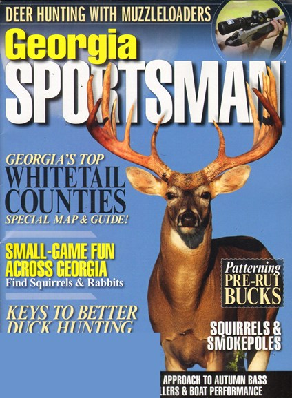 Georgia Sportsman Cover - 10/1/2011