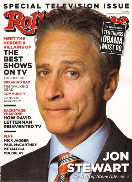 Rolling Stone Cover - 9/29/2011
