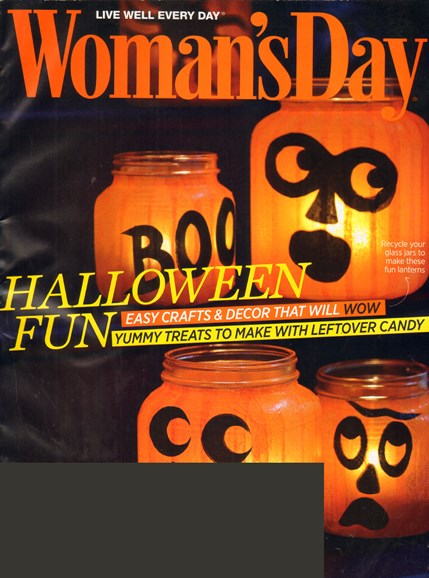 Woman's Day Cover - 10/17/2011