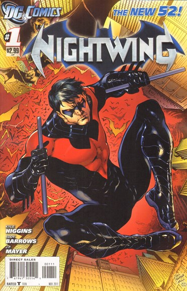 Nightwing Cover - 11/1/2011