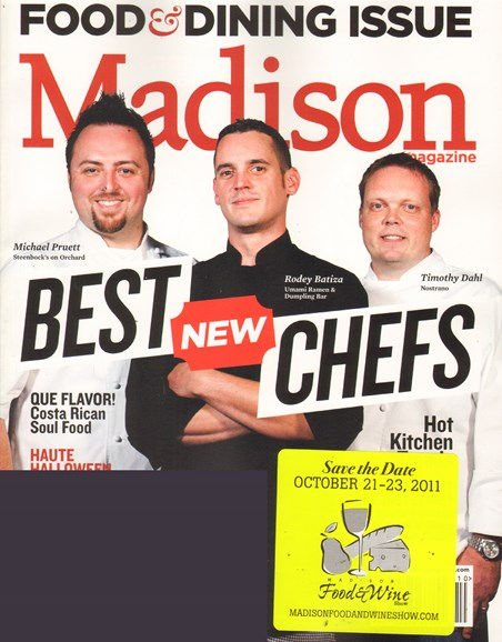 Madison Magazine Cover - 10/1/2011