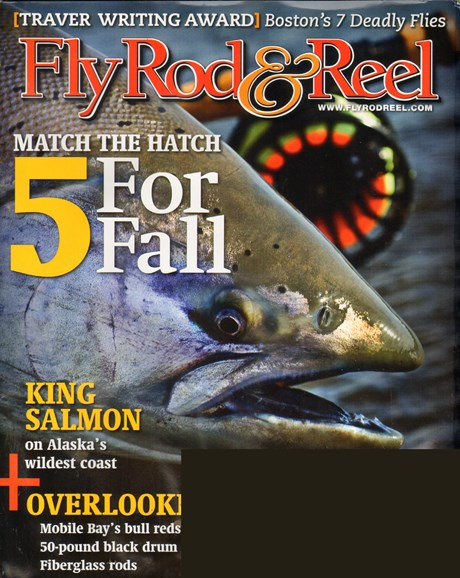 Fly Rod & Reel Magazine Cover - 10/1/2011