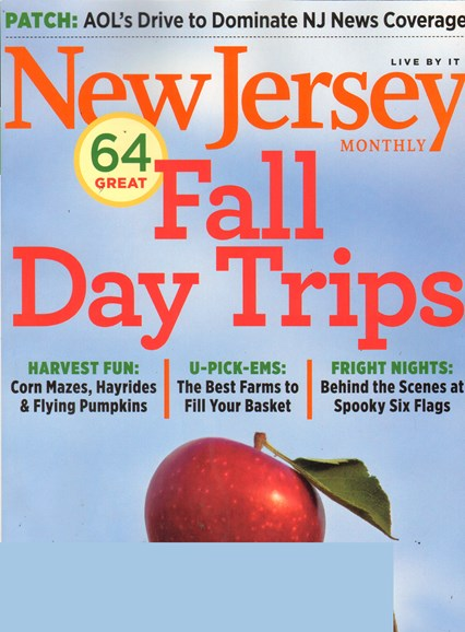 New Jersey Monthly Cover - 10/1/2011