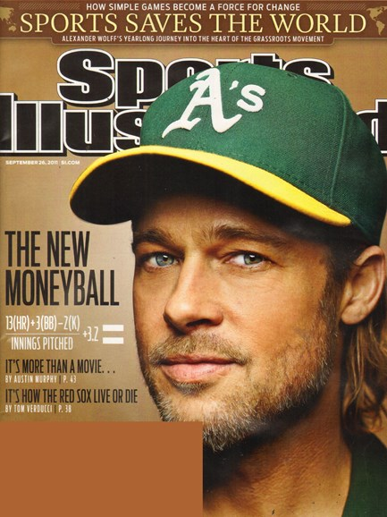 Sports Illustrated Cover - 9/26/2011