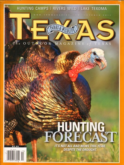 Texas Parks & Wildlife Cover - 10/1/2011
