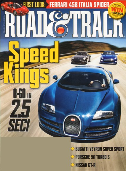 Road & Track Cover - 11/1/2011