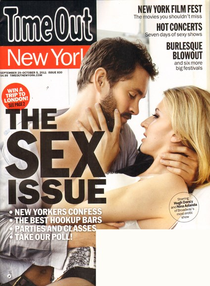 Time Out New York Cover - 9/29/2011