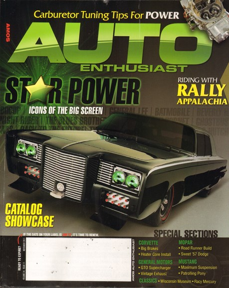 Cars & parts Cover - 11/1/2011