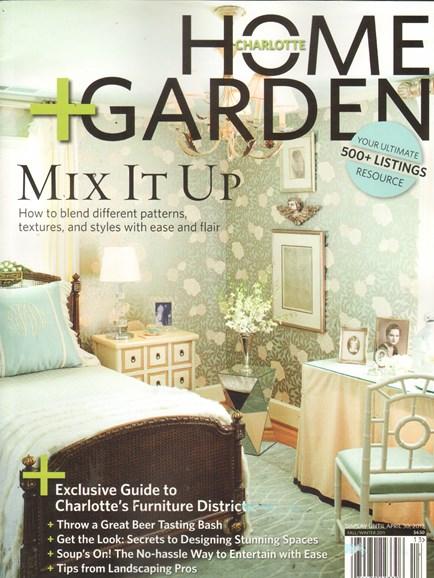 Charlotte Home & Garden Cover - 9/1/2011