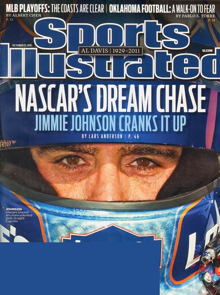 Sports Illustrated Cover - 10/17/2011