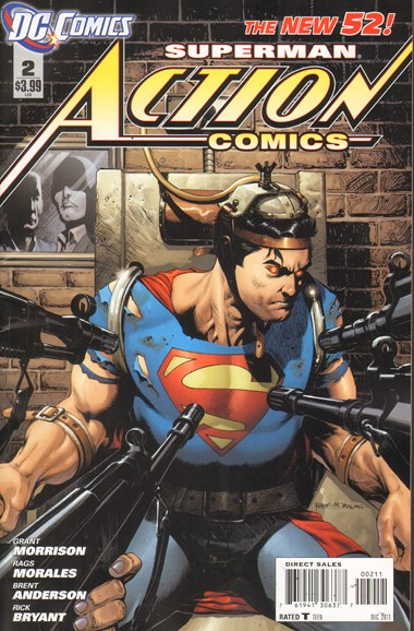 Action Comics Cover - 12/1/2011