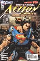 Superman Action Comics 12/1/2011
