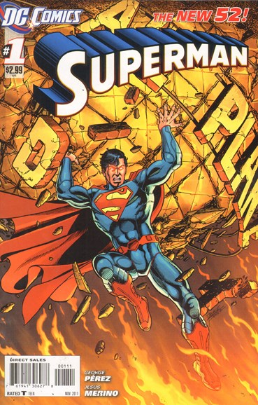 Superman Cover - 11/1/2011